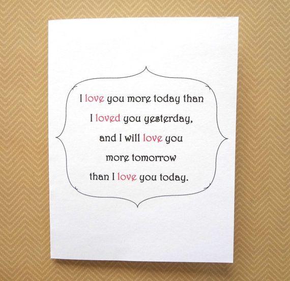 Love Card Sweet Romantic For Boyfriend Girlfriend Husband Wife Birthday Or Anniversary Card Sayings Birthday Card Sayings Love Cards
