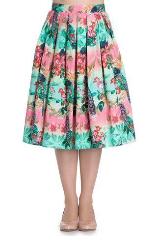 Coming Soon - Ladies Skirt - Hell Bunny Peacock 50's Skirt – PoisonKandyKlothing