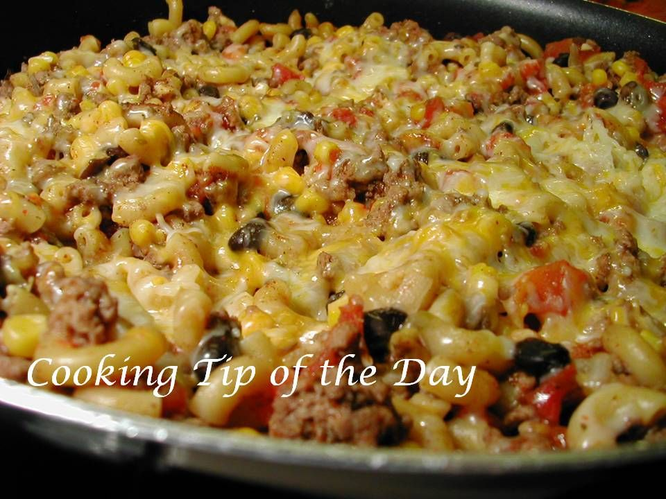 Photo of Cooking Tip of the Day: Recipe: Mexicali Beef Skillet