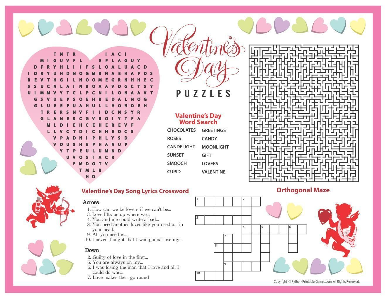 All Valentine S Day Games All Lover S Games Free Party
