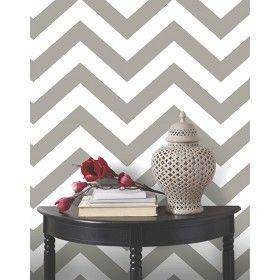 Devine Color Zig Zag Peel Stick Wallpaper Beige White Peel And Stick Wallpaper Striped Wallpaper Chevron Wallpaper