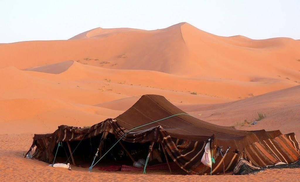 The Bedouin Tent – Cool in the day, Warm at Night and Dry