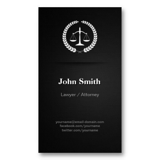 Lawyer attorney professional elegant black business card black lawyer attorney professional elegant black business card fbccfo Choice Image