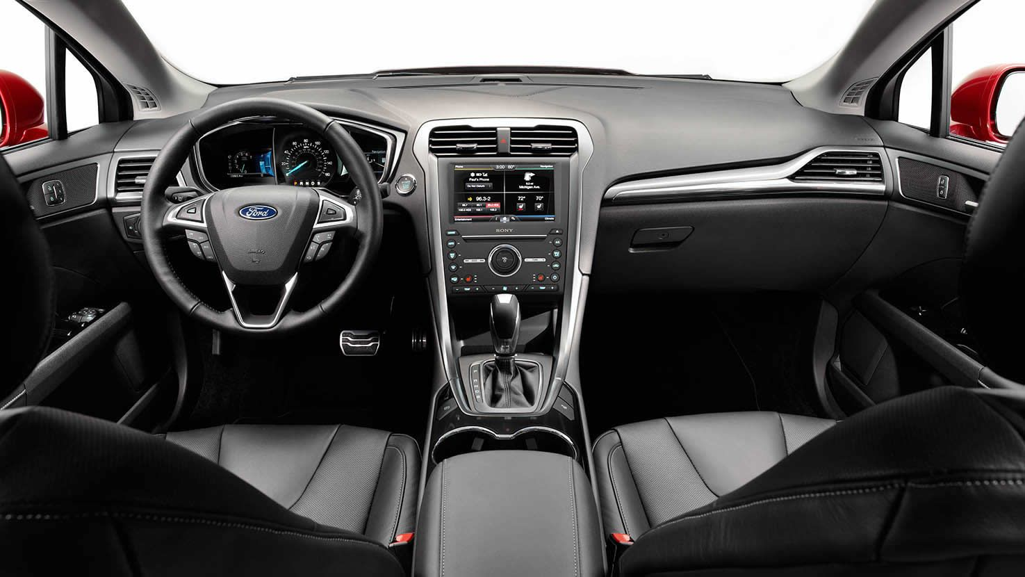 Another Interior View Of The 2015 Ford Fusion