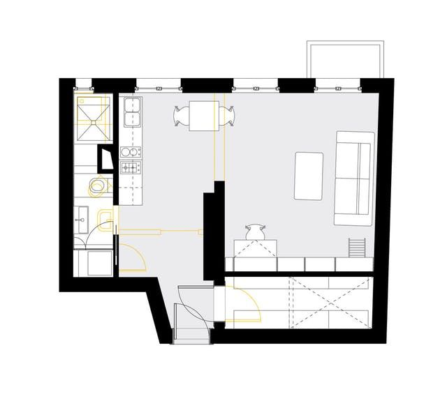 Pin By Lorna Macdougall On Garage Plans: A Tiny German Apartment Packed Full Of Personality (and