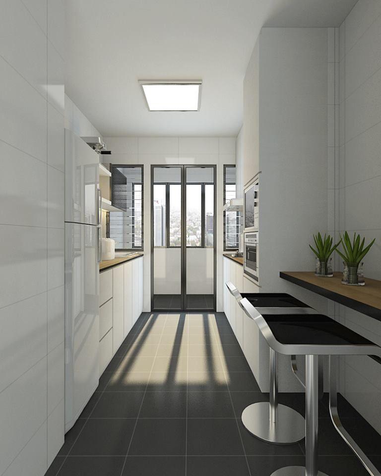 Minimalist Hdb Design: HDB BTO Modern Minimalist At Blk 489B Sunshine Garden