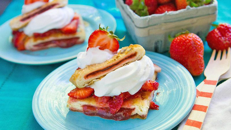 Grill up some Toaster Strudel for the best strawberry shortcake shortcut ever!