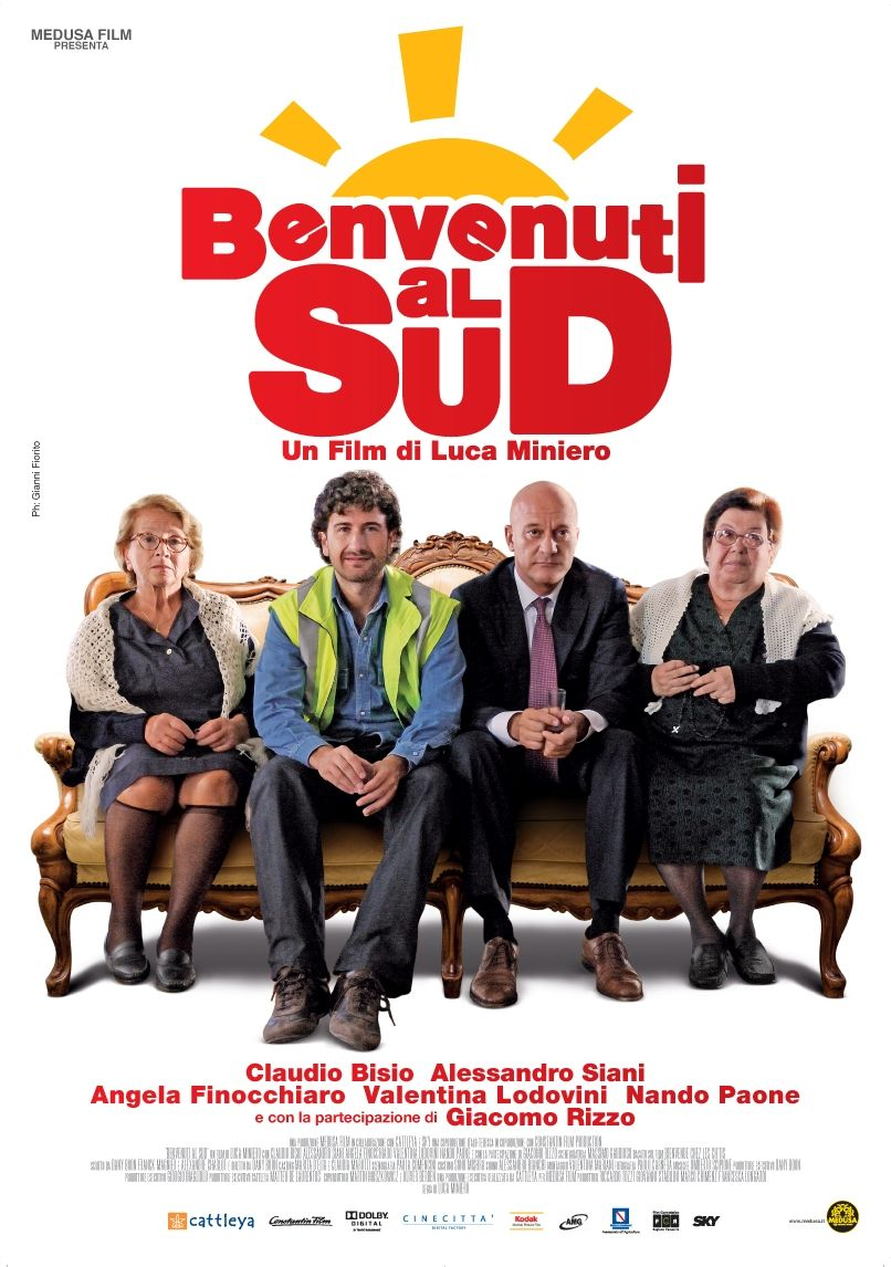 Funny Italian comedy about a manager of the postal service ...