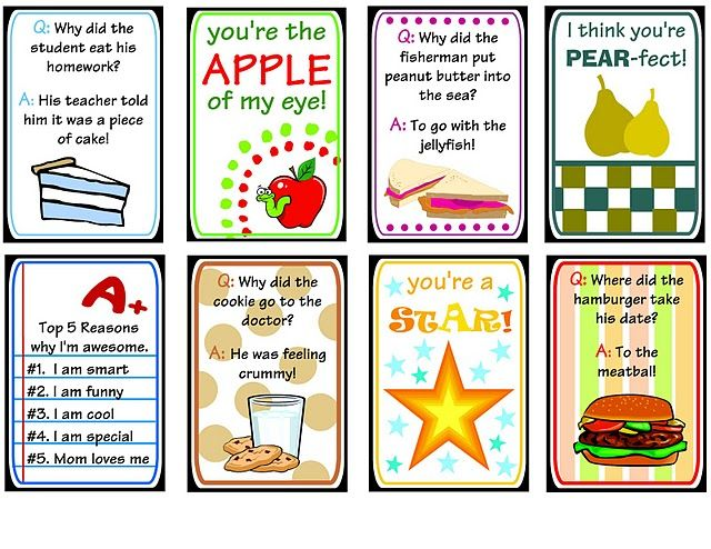Lunch Box Printables
