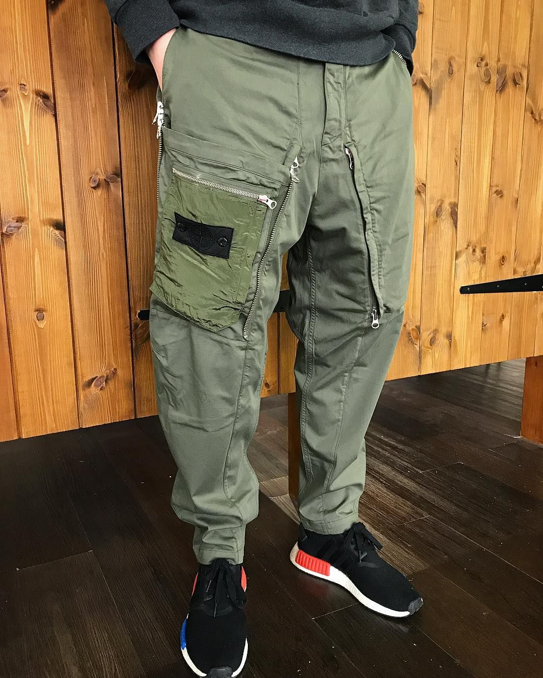 43221ca1c6 Stone Island Shadow Project military trousers - a stretch cotton ...
