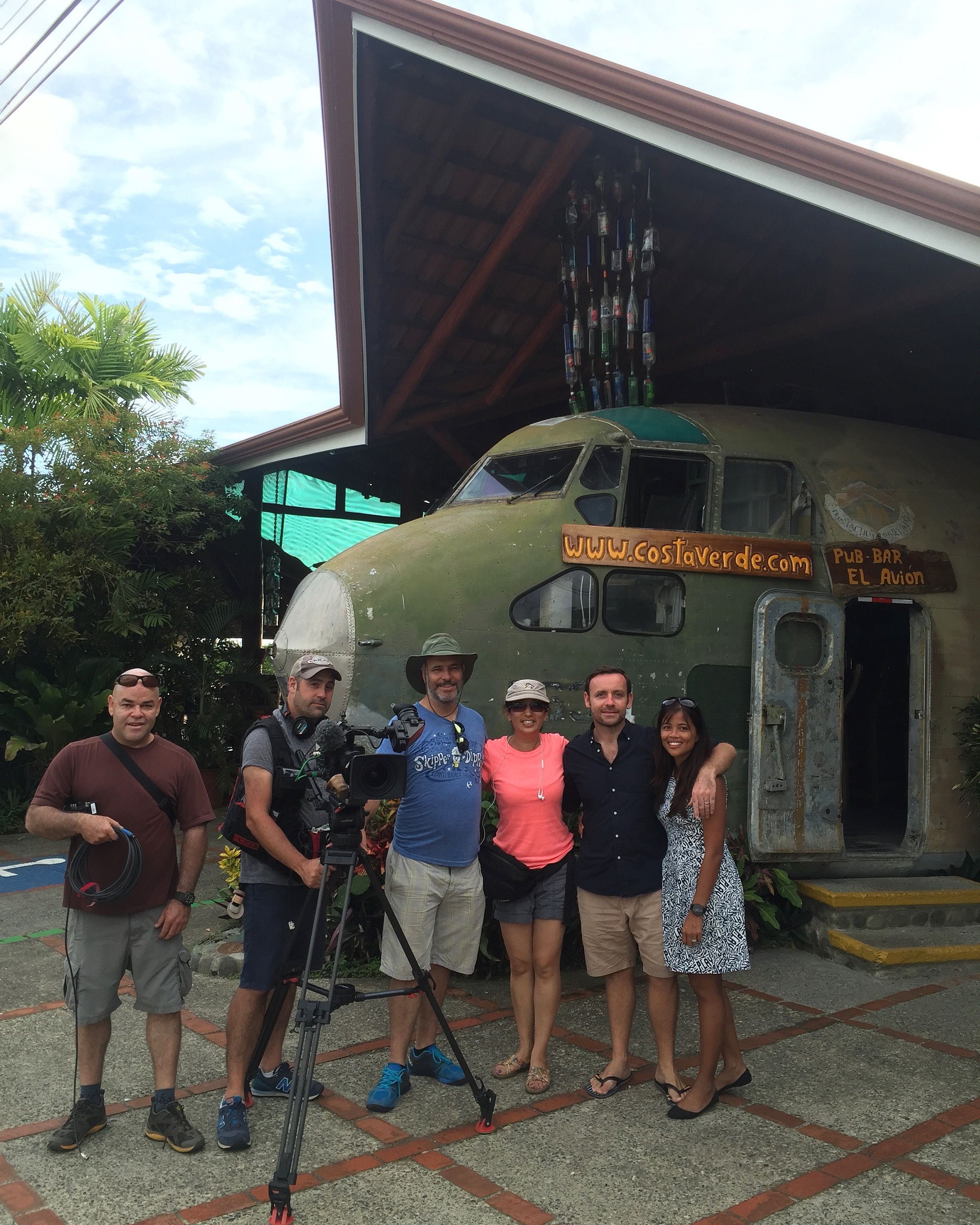 Just finished 5 days of filming in Manual Antonio for our 'House Hunters International' episode. Very challenging few days but enjoyed it lots! Awesome crew! #househuntersinternational #jackpotsportfishing #fishingincostarica #manuelantonio #costaricafishing #sportfishingincostarica #househunters