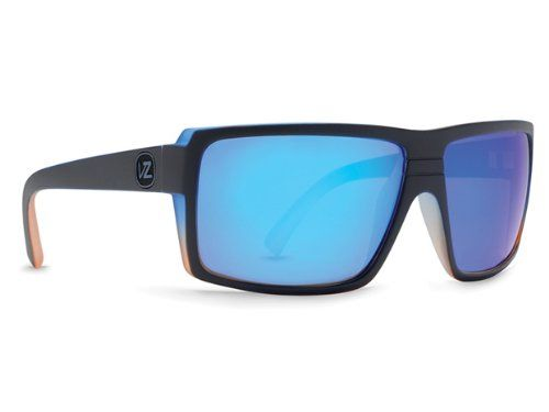 c7b2a746be VonZipper Snark Sunglasses FROSTEEZ LIMITED EDITION Black Blue Orange Astro  Chrome
