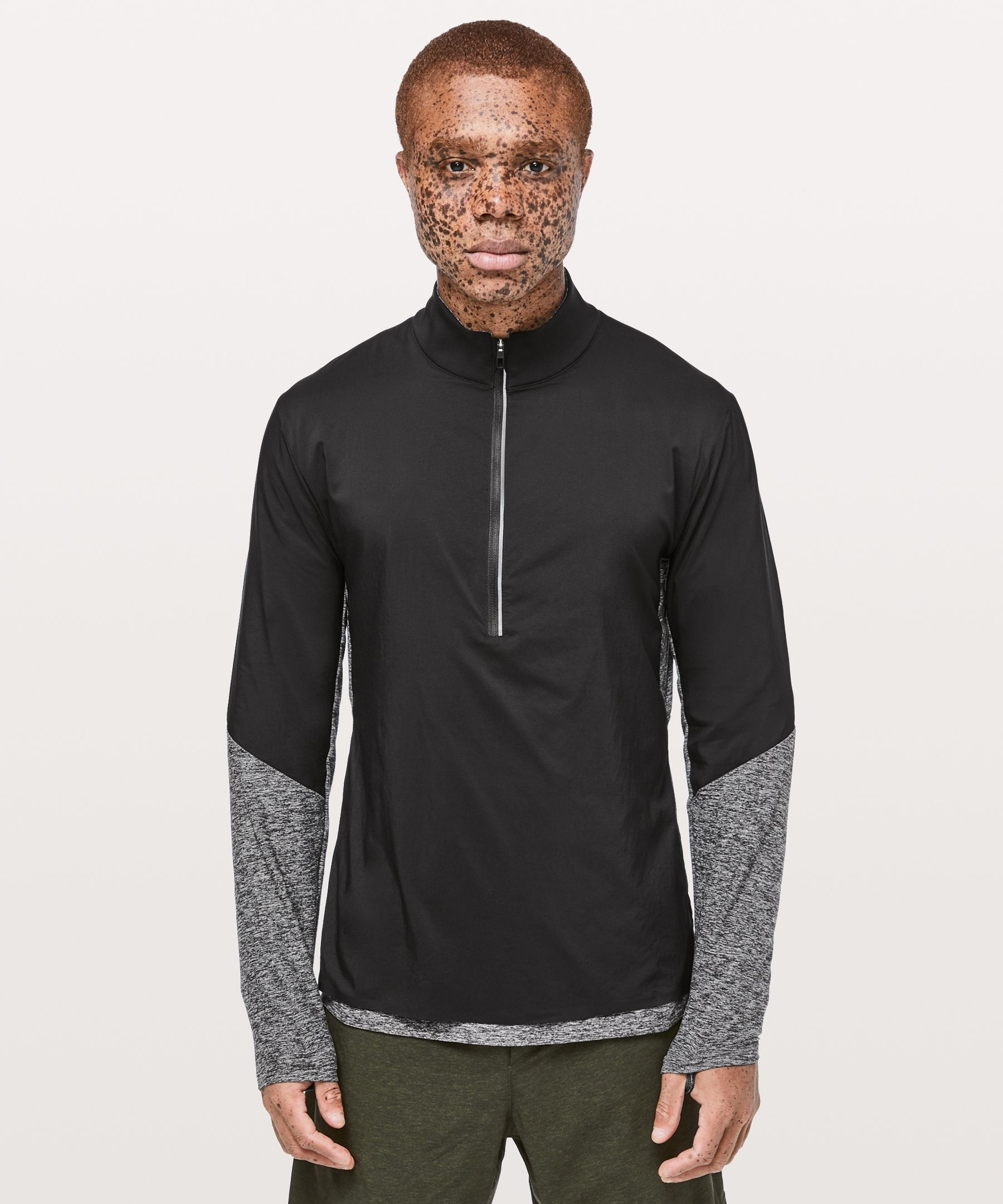 Surge Warm Shield 1/2 Zip - Don't hide from bad weather