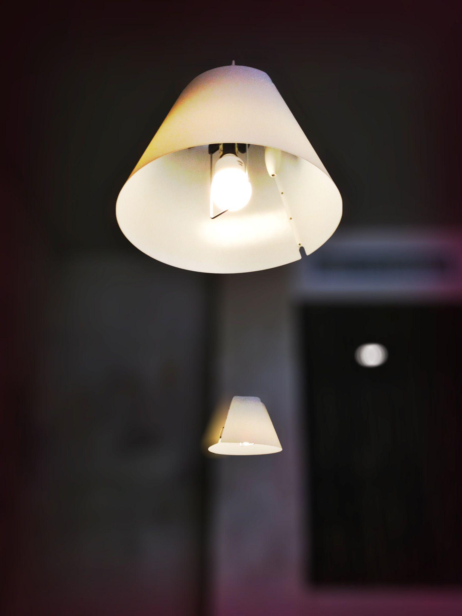 Luceplan S Costanza Pendant In A Tavern In St Moritz Switzerland Modern Light Fixtures Modern Lighting Design Wall Lights
