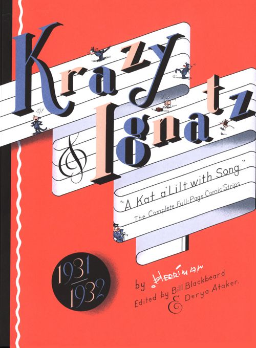 Krazy Ignatz 1931 1932 A Kat Alilt With Song Used Books Online Books Chris Ware