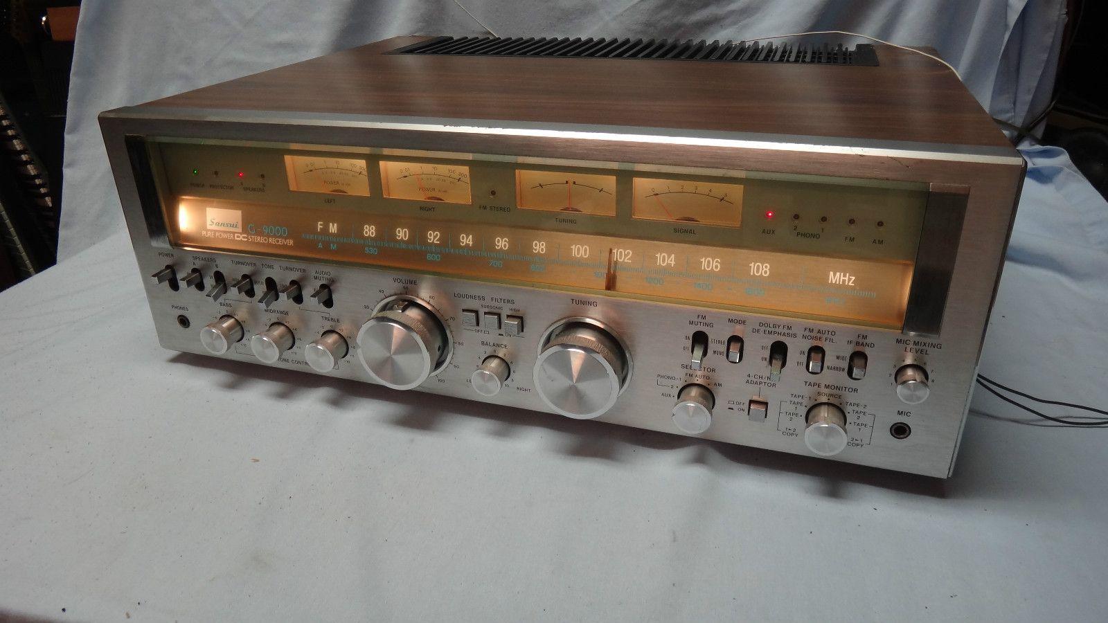 Vintage SANSUI G-9000 Stereo Receiver | Electronique, Ampli, Technologie