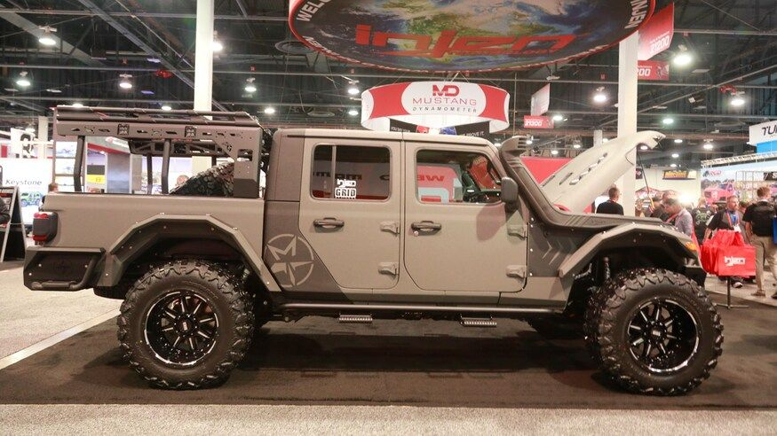 Mega Gallery The Custom Jeep Gladiator Jt Builds Of Sema 2019 In