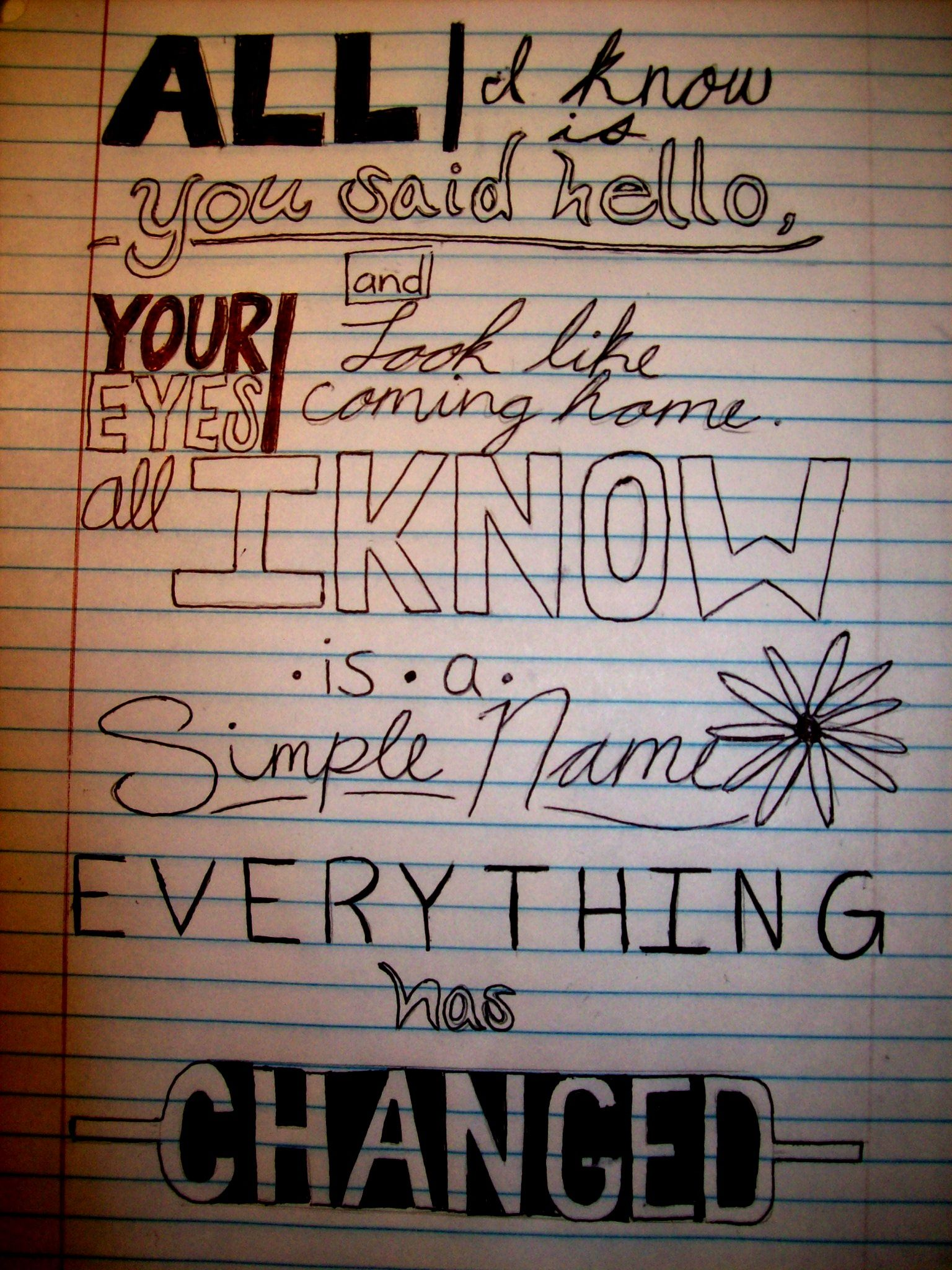 My doodles from philosophy, in the wise words of Taylor Swift