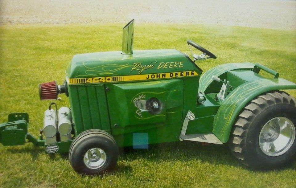 JD 4640 puller | Garden tractor pulling