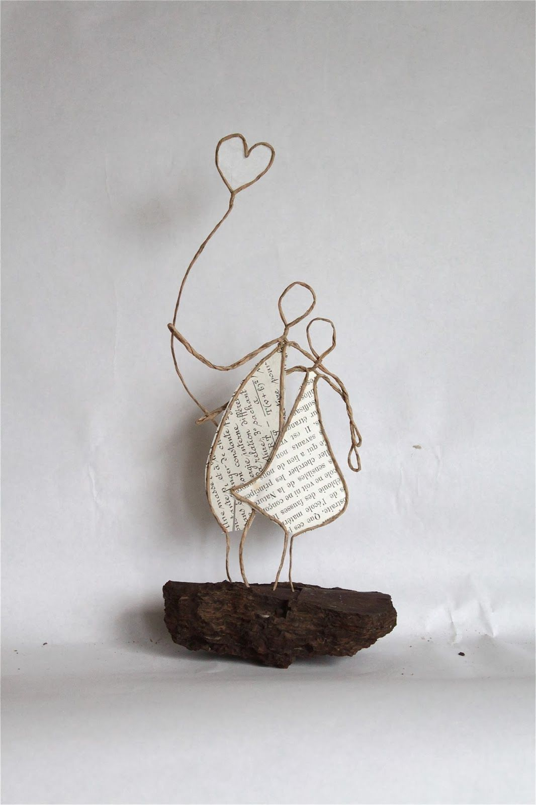 sculptures made with book pages & twine (? I think) / Epistyle ...
