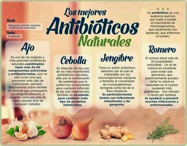 Antibióticos naturales