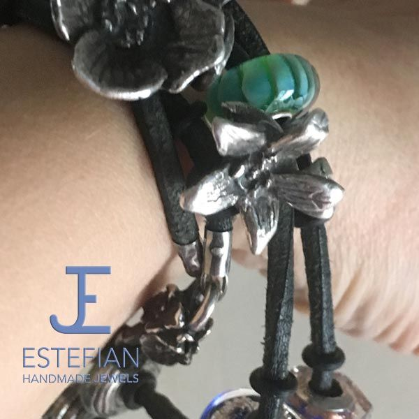 "BEAD ""CAMPANULA"" ARGENTO 950 Estefian Jewels"