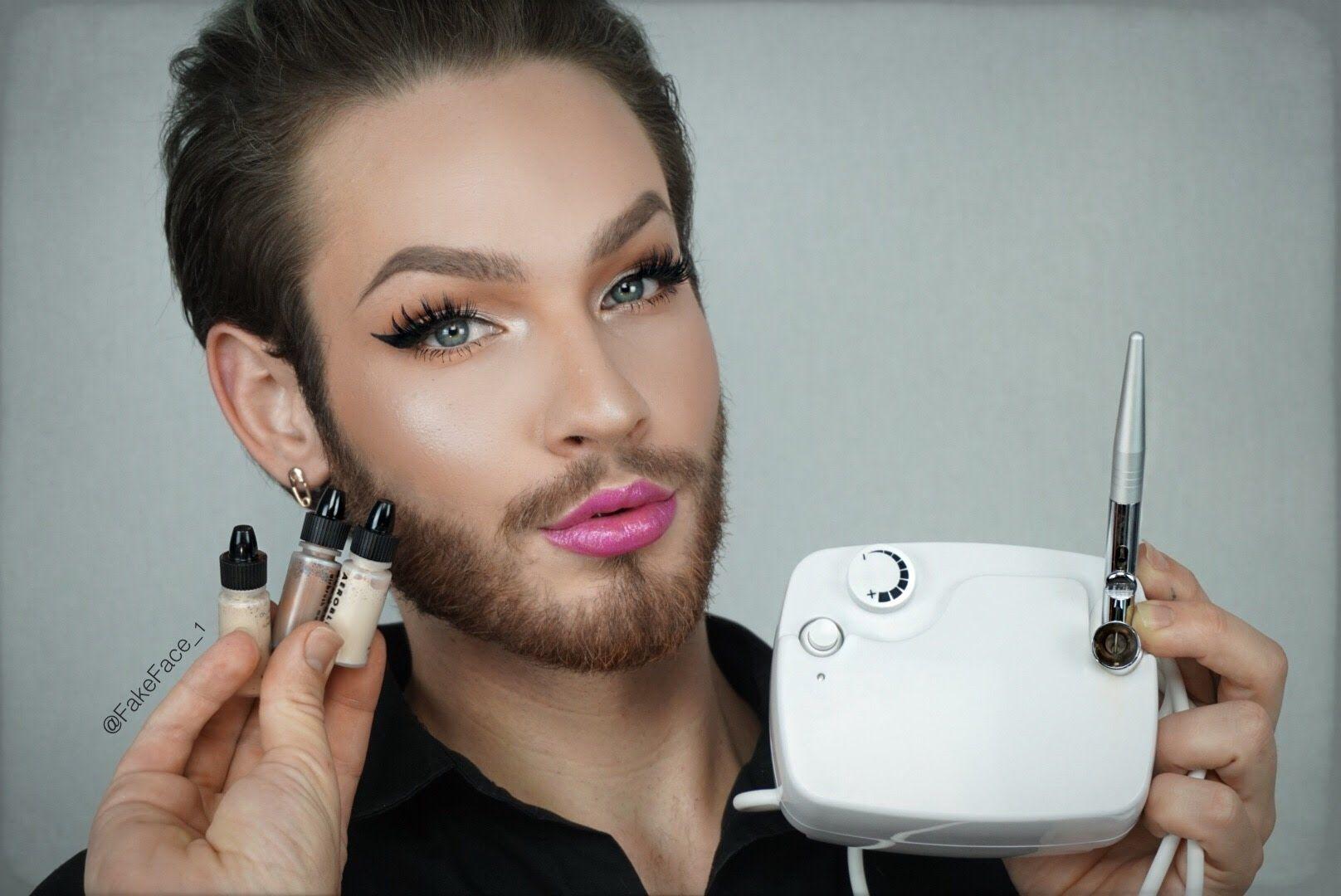 How to get Airbrushed Makeup FakeFace Airbrush makeup