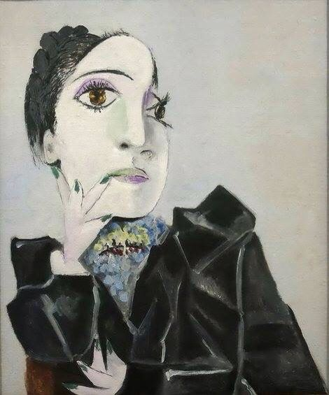 Pablo - Picasso Dora Maar with green nails 1936