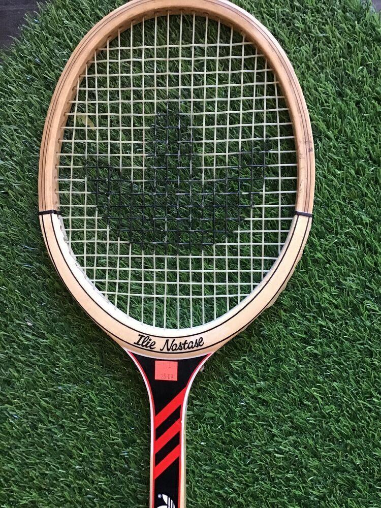 Inmoralidad Víspera de Todos los Santos diamante  Vintage Adidas Ilie Nastase Wooden Tennis Racket GREAT CONDITION #adidas |  Tennis racket, Tennis, Ilie năstase