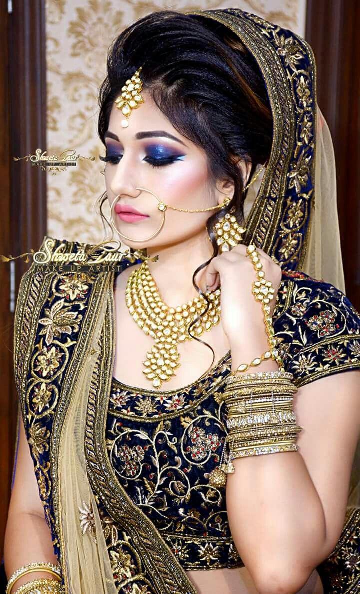 Beautiful Bridal Hd Airbrush Look For The Season By Shweta Gaur At