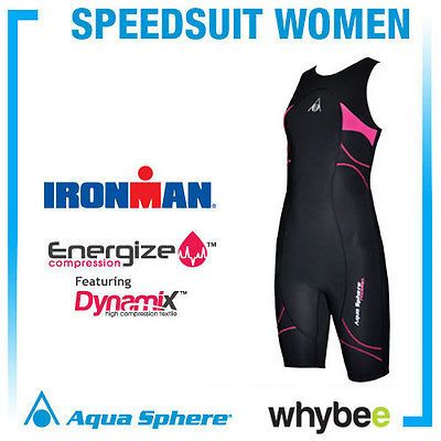 Aqua #sphere #ladies womens compression speedsuit triathlon wetsuit #swimming sui,  View more on the LINK: 	http://www.zeppy.io/product/gb/2/161710842710/