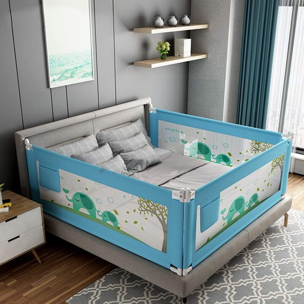 Toddler Bed Rail Child Baffle Bed Guard Rail Guardrail Baby Anti Fall Bed Block Baby Safety Bed Rail Vertical Kids Bed Rails Bed Rails For Toddlers Toddler Bed Guard rail for toddler beds