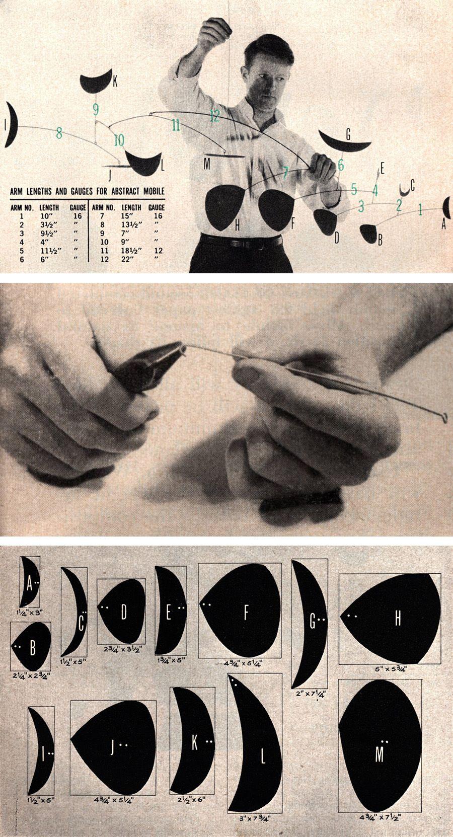 Cut shapes from cardboard or lightgauge sheet metal for