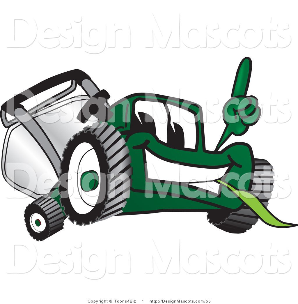 free clip art downloads lawn man | Vector: Cartoon man mowing his ...