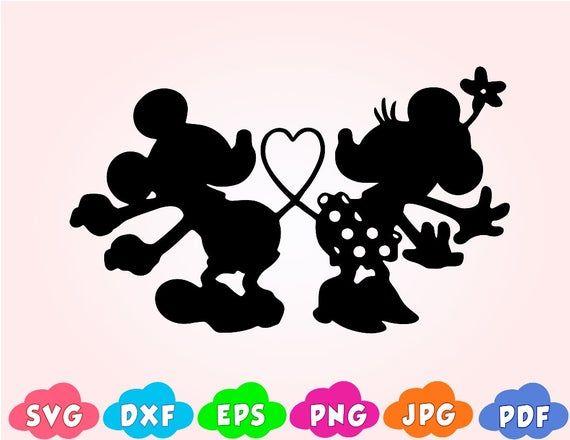 Download Mickey love,minnie love svg,Mickey heart svg,mickey kiss ...