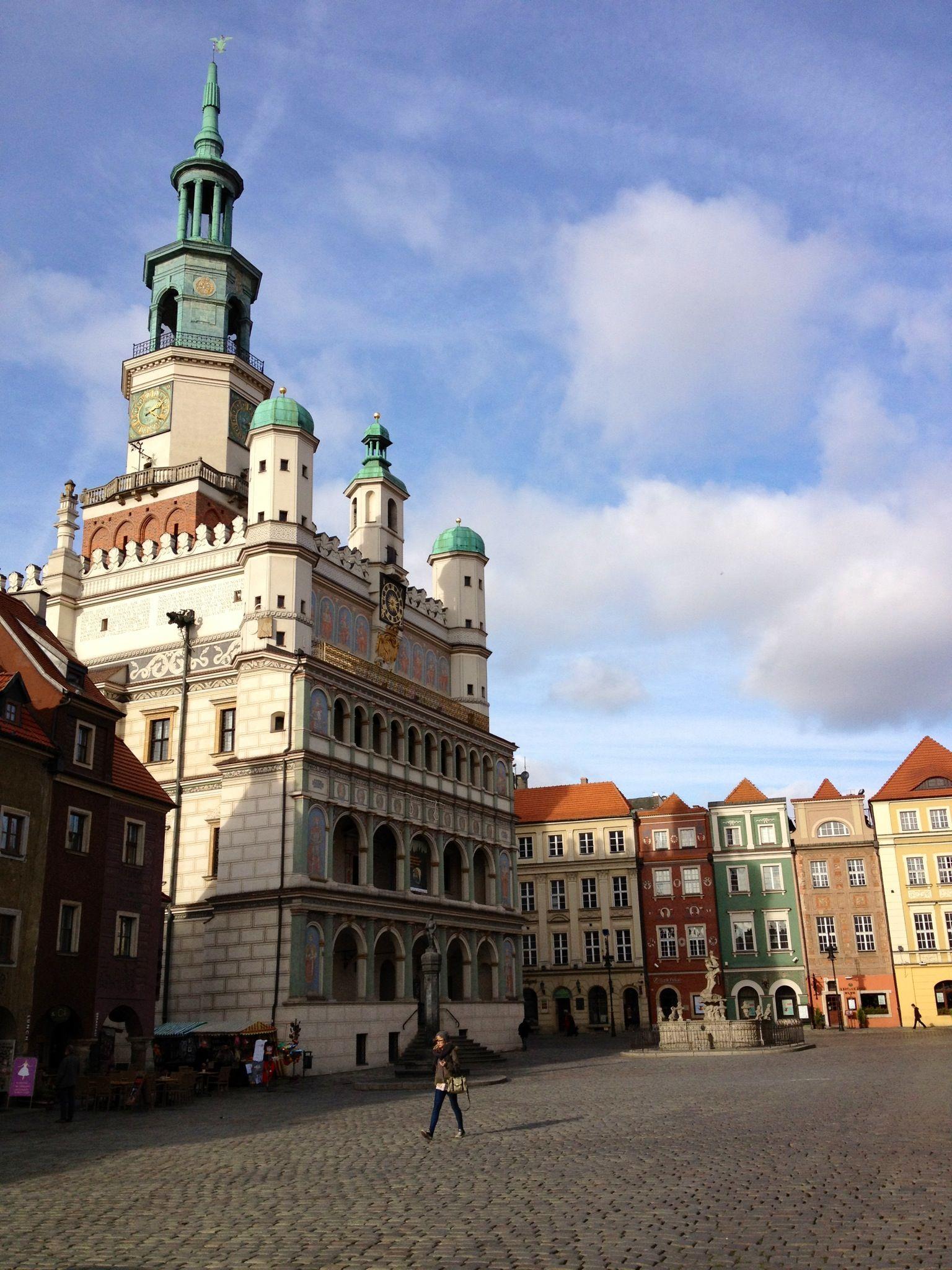 City Hall @Poznan, Poland