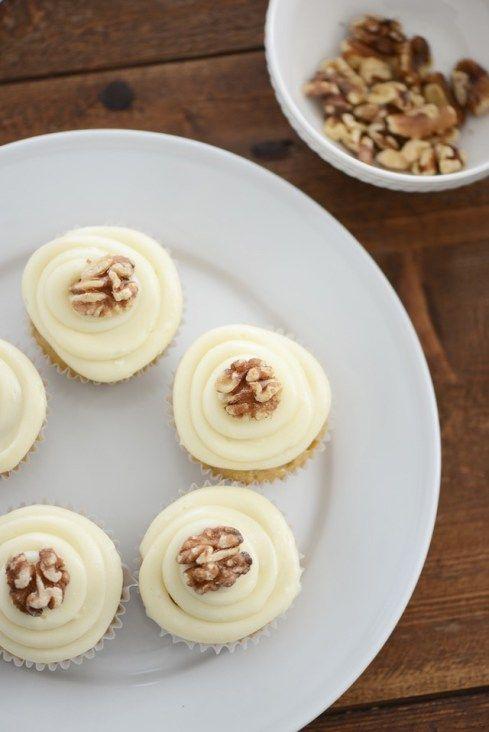 Maple Walnut Cupcakes | M Loves M
