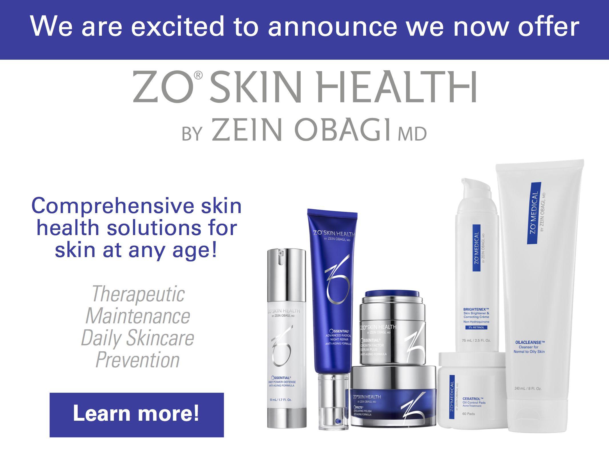 ZO Skin Health at the Firouz Institute Skin care