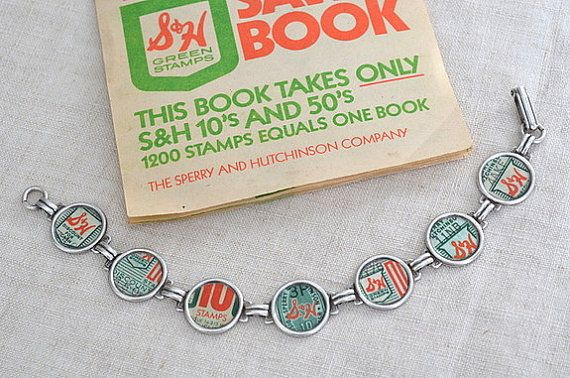 S and H Green Stamp Bracelet
