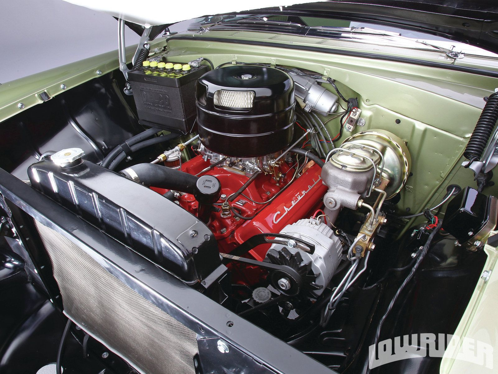 1956 chevrolet bel air convertible for sale - 1956 Chevrolet Bel Air Engine Bay