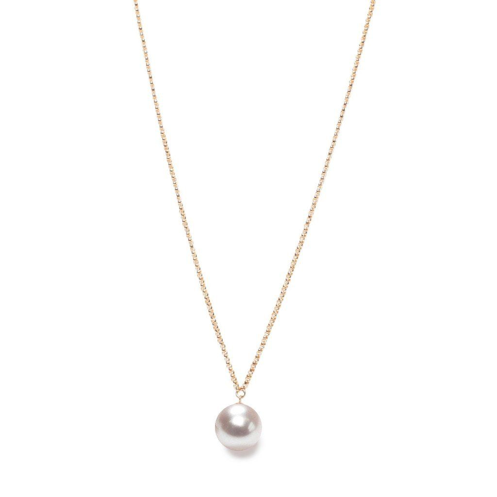 ORA Pearls Sterling Silver XXL Pink & Gold Pearl Pendant Necklace
