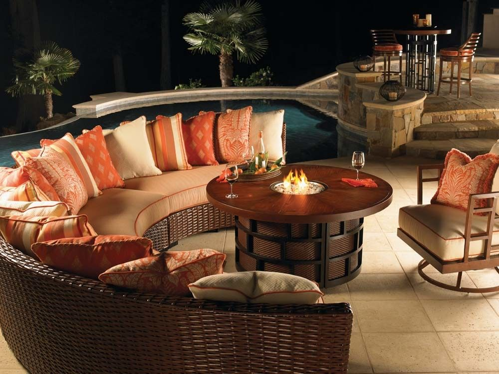 Exceptional Patio Furniture Set With Fire Pit Table Part 23