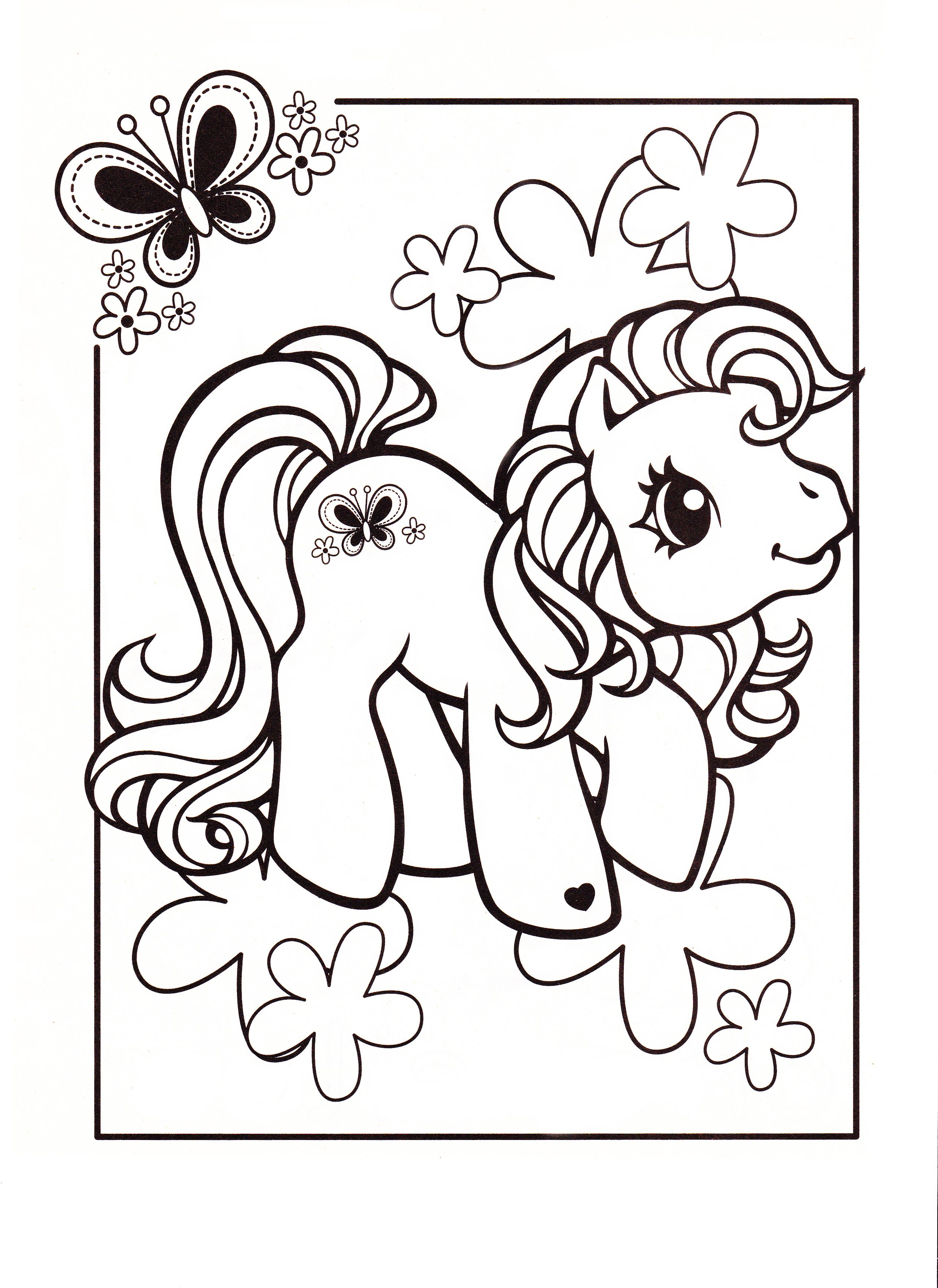My little pony coloring pages scootaloo - My Little Pony Coloring Page Mlp Scootaloo