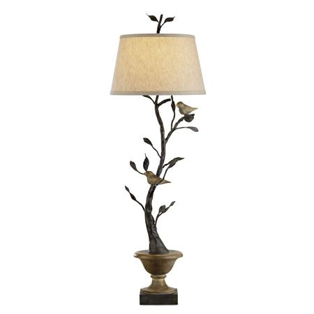 Currey And Company 6353 Mulberry Table Lamp Table Lamp Rustic Light Fixtures Bliss Home And Design