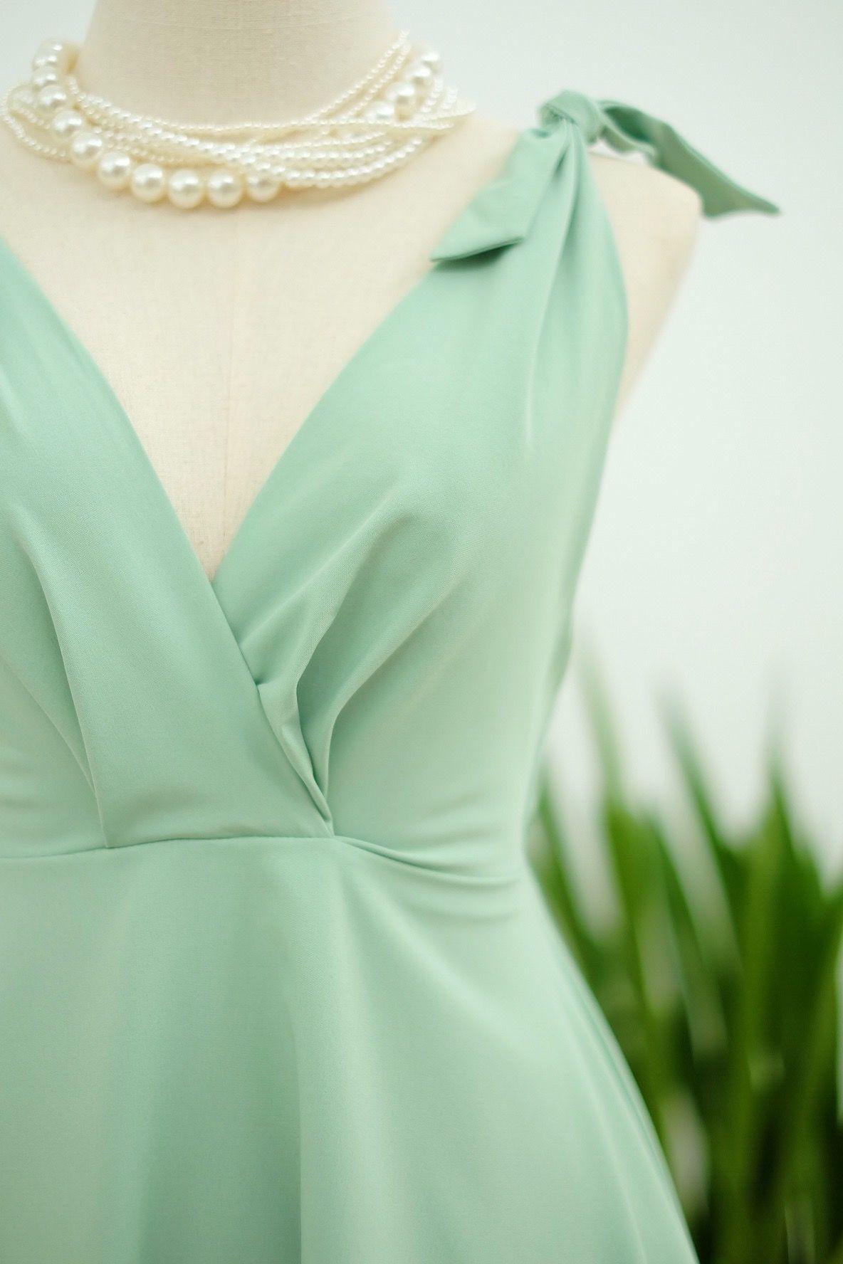 Green dress for wedding party  Sundress By Keeratika B  Keeratika B Dress on Etsy  Pinterest