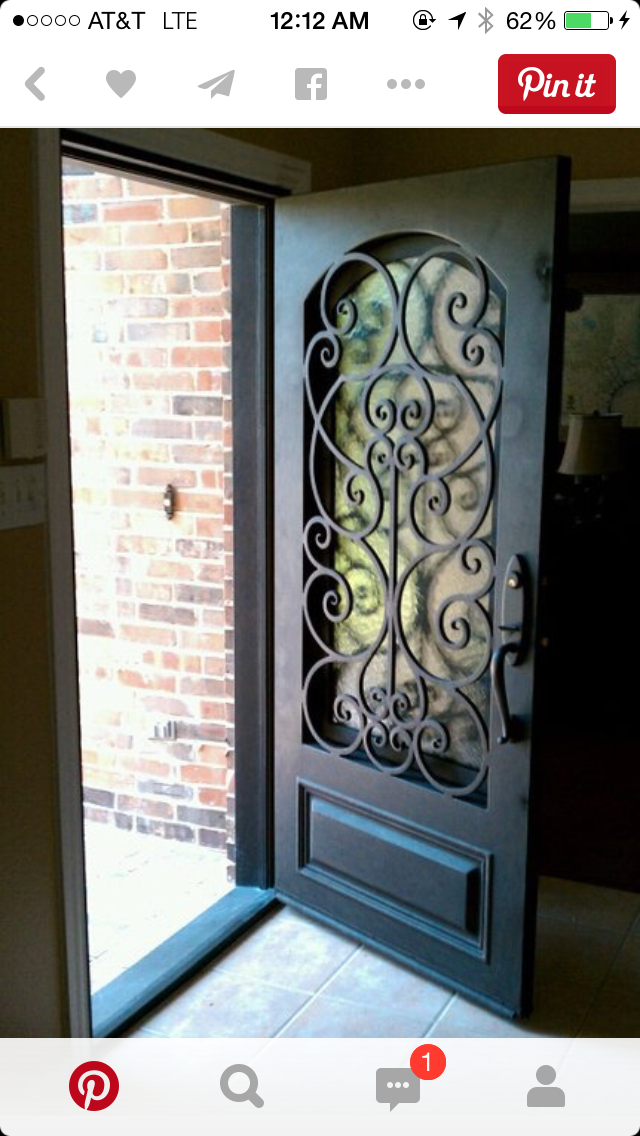 Decorative Steel Door Home Improvement Ideas Front