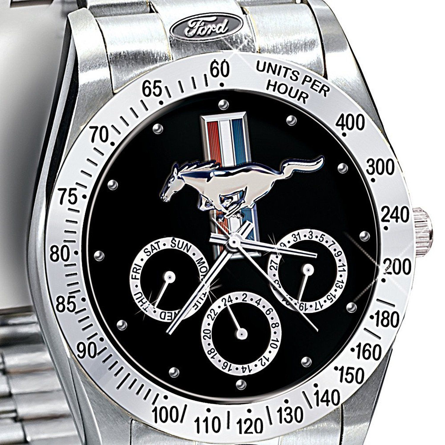 Mustang wrist watch a must have for every mustang enthusiast whitemarshford
