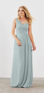 860136986e Seaside color Shop Dove & Dahlia Bridesmaid Dress - Isabelle in Poly  Chiffon at Weddington Way. Find the perfect made-to-order bridesmaid dresses  for your ...
