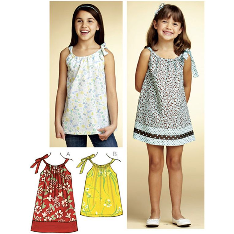 Kwik Sew Dress & Tunic Pattern | Sewing Patterns--Girls | Pinterest