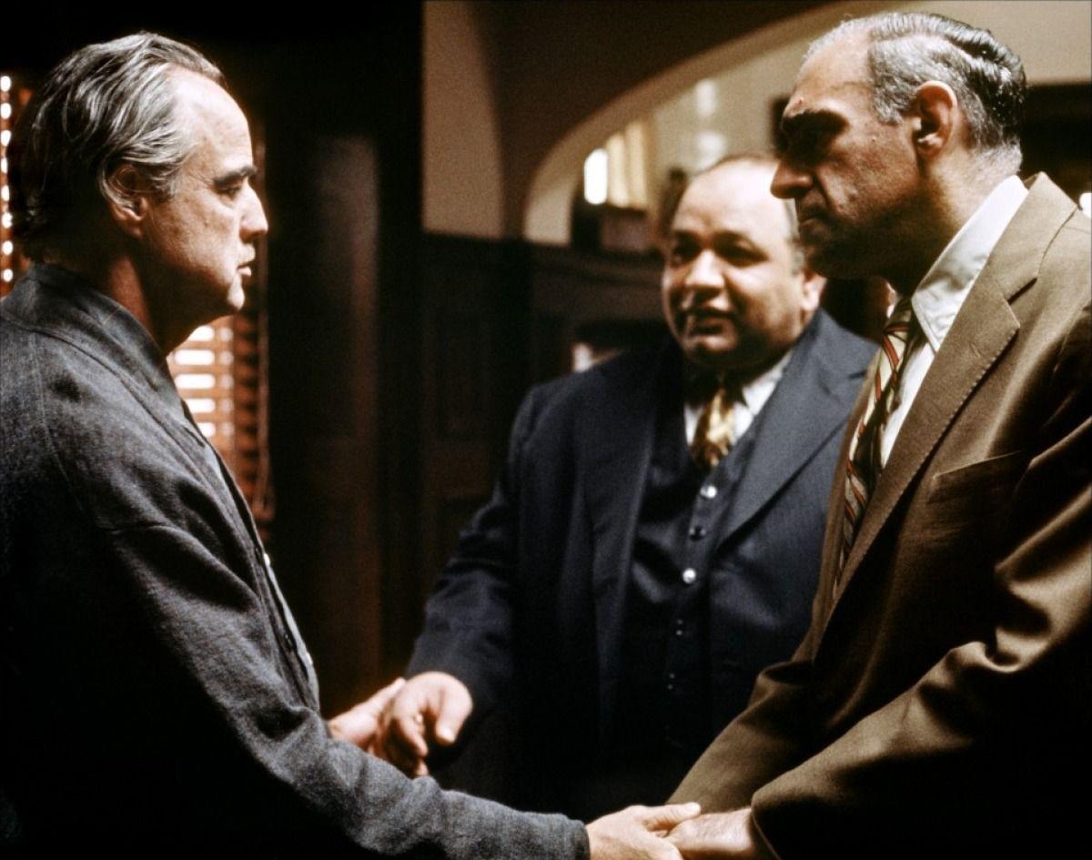 Marlon Brando As Don Vito Corleone Richard Castellano As Peter